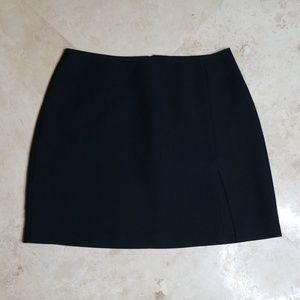 XOXO vintage black mini skirt with slit/ 3 for $25